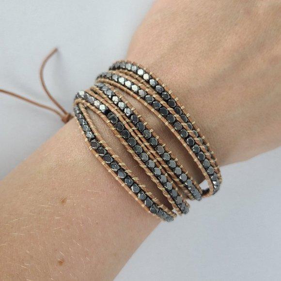 Victoria Emerson Beaded Wrap Bracelet